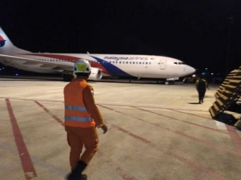 Jejak Pesawat Malaysia Airlines yang Sempat Mendarat Darurat di Jambi