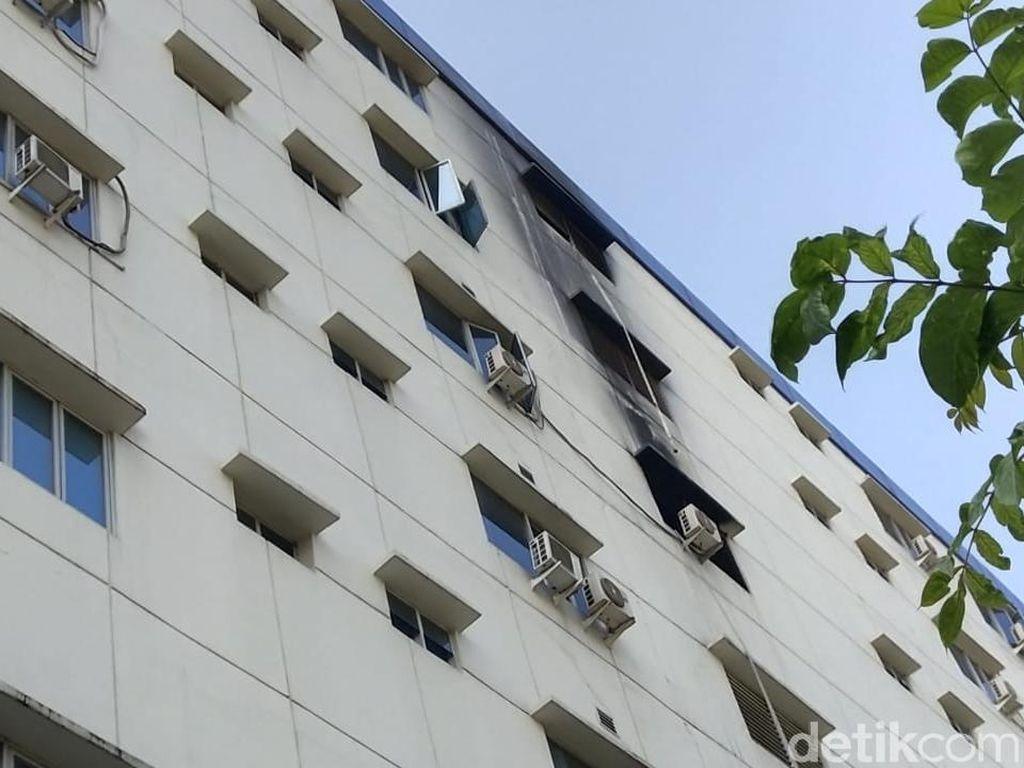 Usai Kebakaran, RSUD Tangerang Tutup Pelayanan Sementara