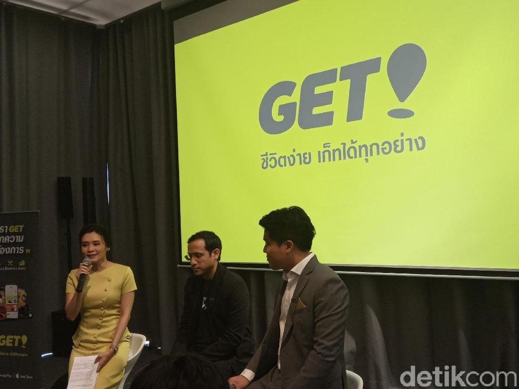 Dua Bulan, Get si Go-Jek Thailand Selesaikan 2 Juta Orderan