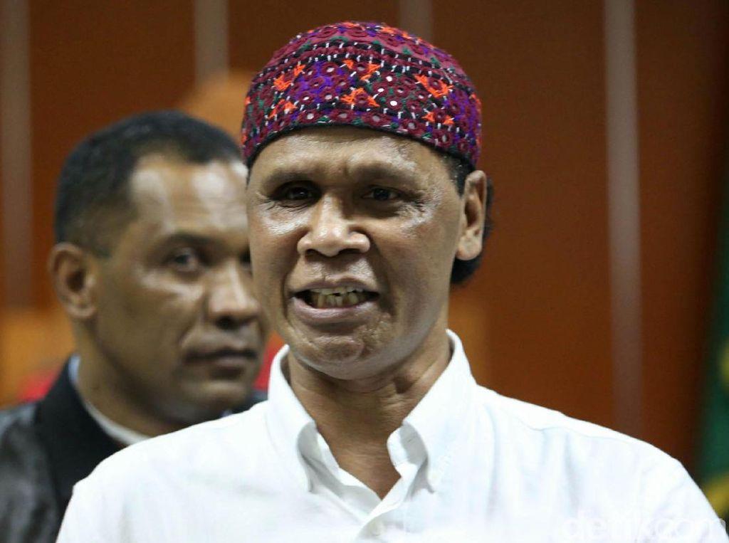 Hercules Ngamuk Jelang Sidang Vonis di PN Jakbar