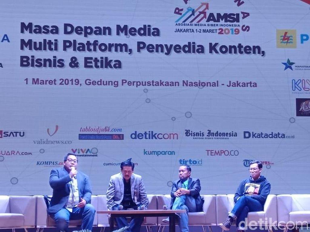Gelar Rakernas, AMSI Wadahi Pengusaha untuk Investasi ke Media Digital