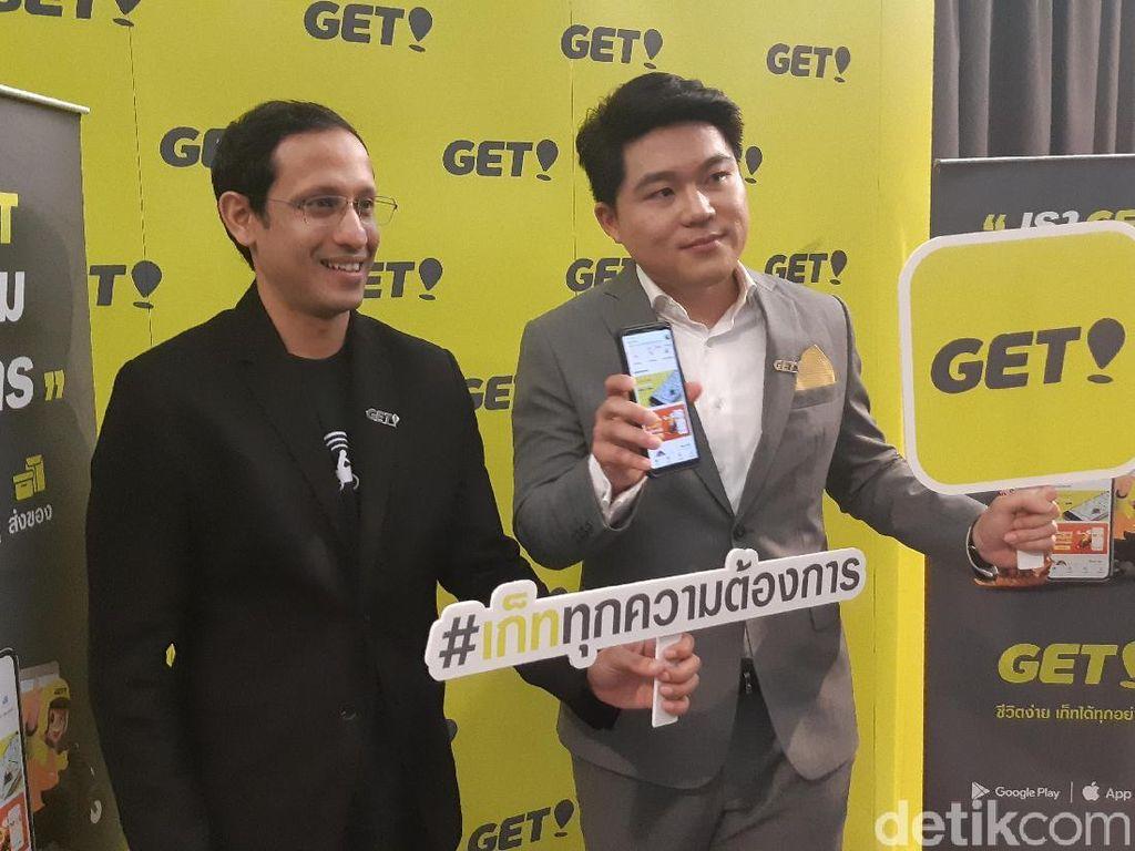 Alasan Go-Jek Usung Nama Get di Thailand