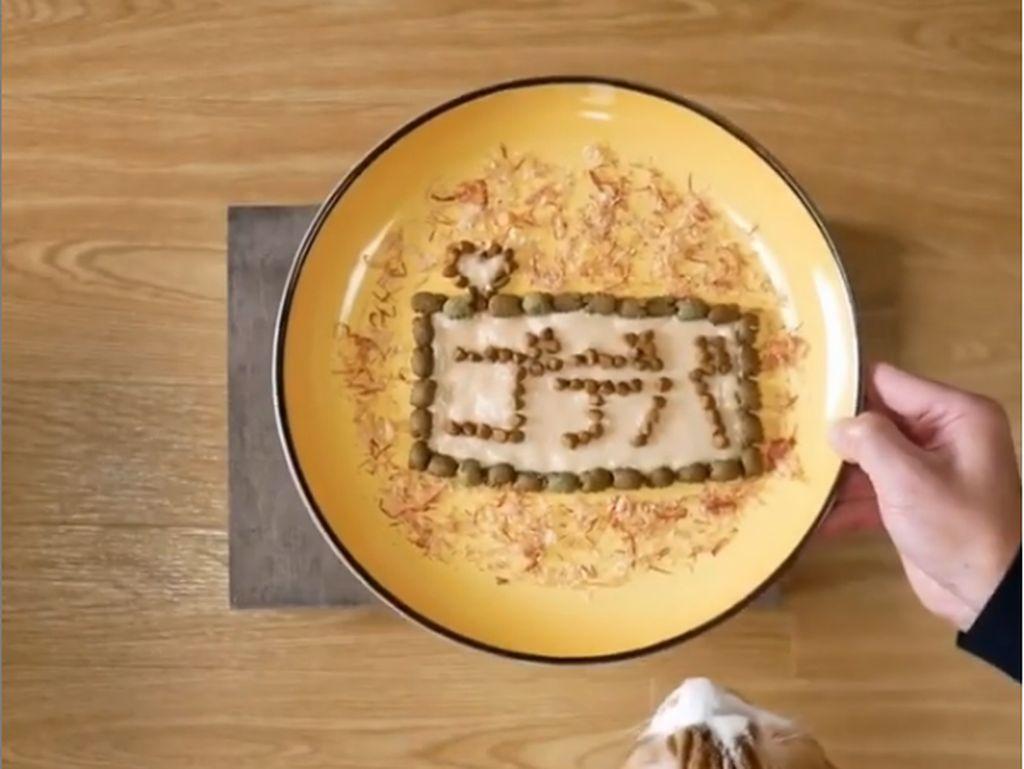Kreatif! Pemilik Kucing Bikin Plating Makanan untuk 2 Kucingnya