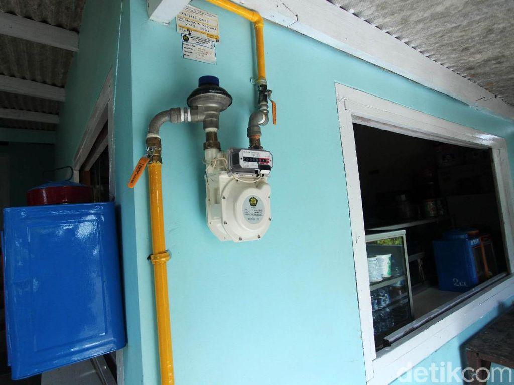5.120 Rumah di Bogor Dapat Sambungan Gas Pipa