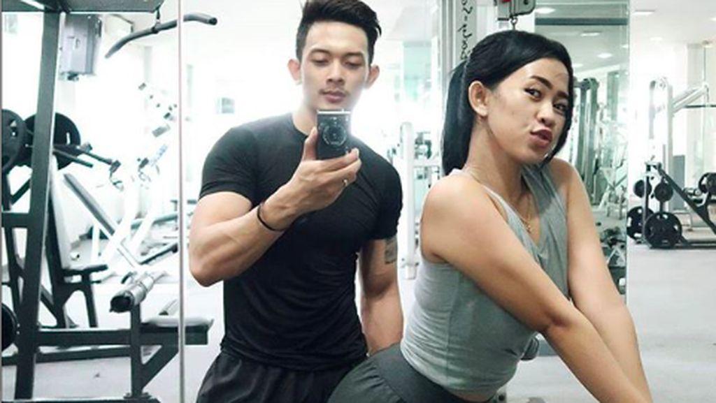 Couple Goals! Daffa dan Gita, Pasangan Romantis yang Hobi Olahraga Bareng