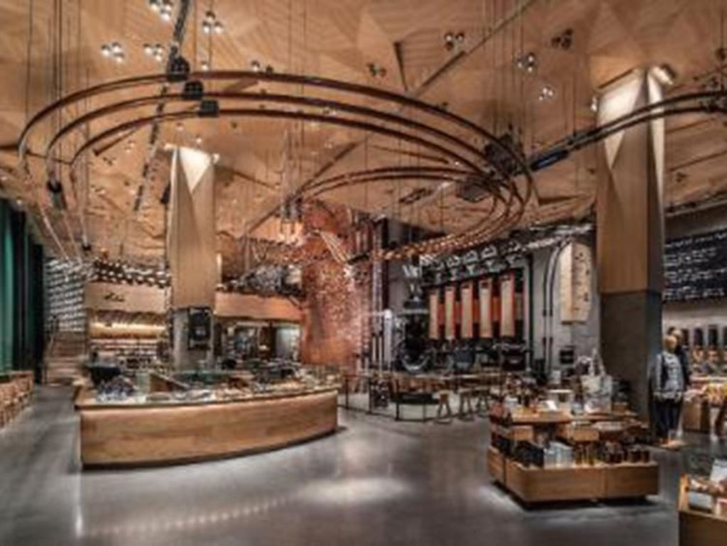 Megahnya Gerai Starbucks Terbesar di Dunia