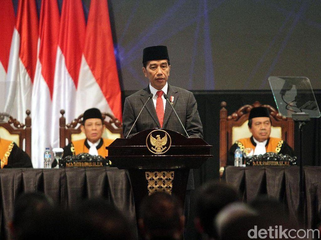 Ketua MA: Jokowi Suka Marah Kalau Serapan Anggaran Tak Sesuai Harapan
