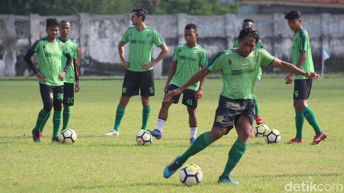 Persebaya latihan menjelang Piala Presiden 2019 (Suparno/detikSport)