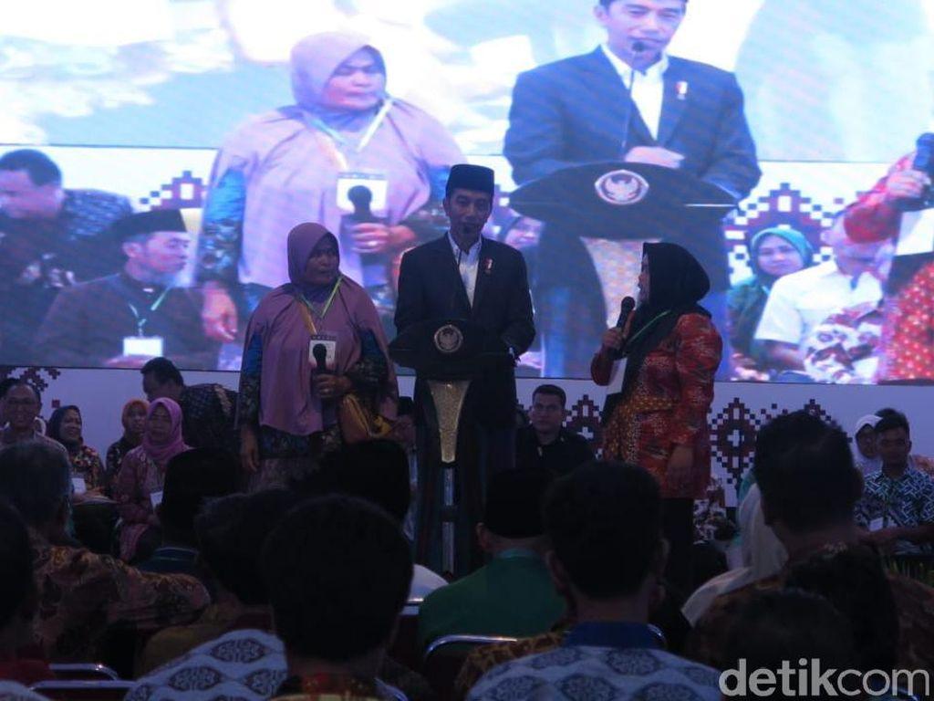 Jokowi: Santri Jadi Manajer Bank Syariah, Kenapa Tidak?