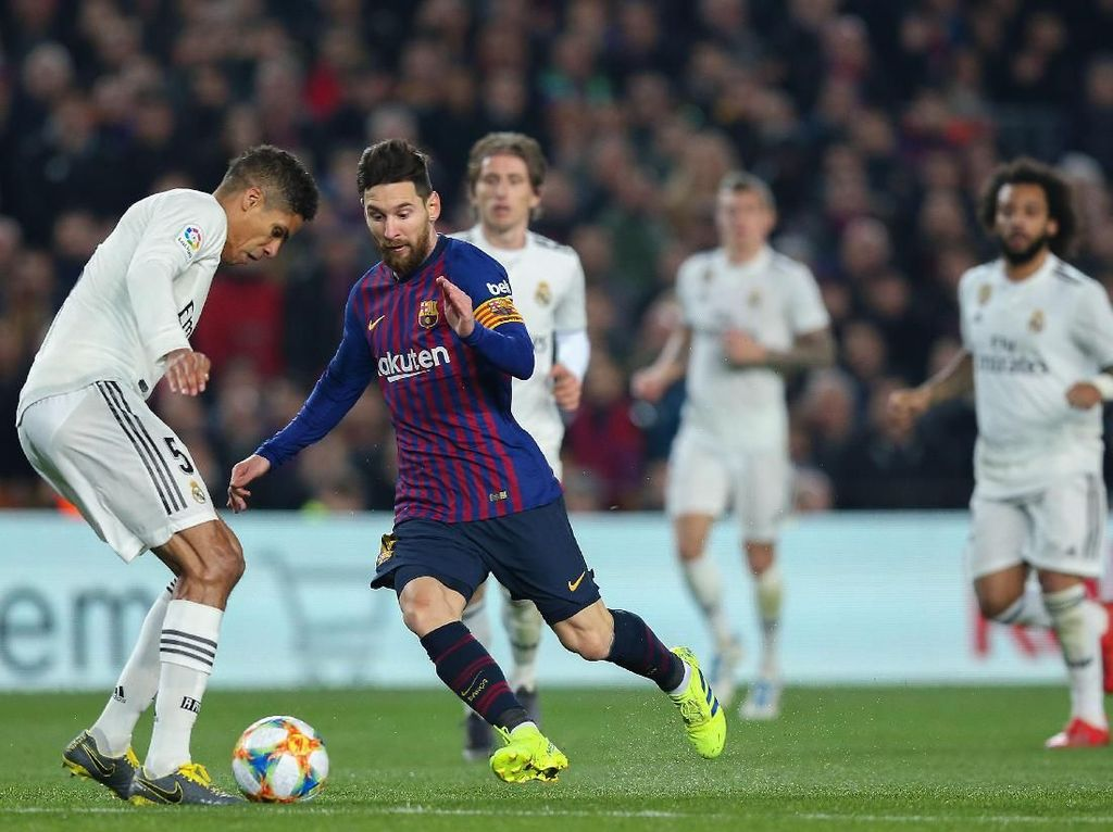 Jelang Copa del Rey: Bisa Hentikan Messi, Madrid?