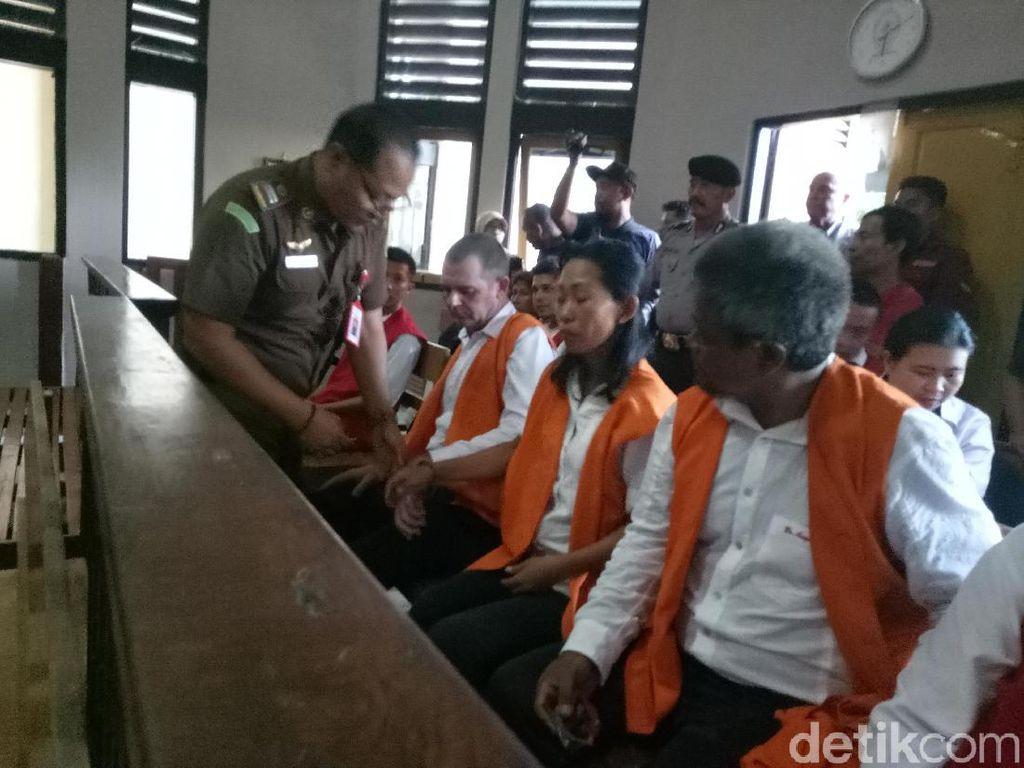 Kasus Kokain di Bali, WN Aussie dan Kekasih Divonis 5 Tahun 4 Bulan Bui