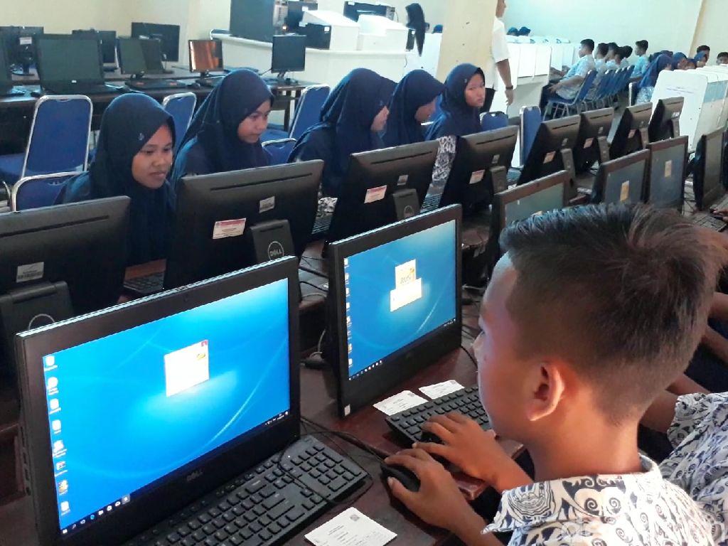 Baru 59 Persen SMP di Brebes yang Ikut UNBK 2019, Ini Alasannya