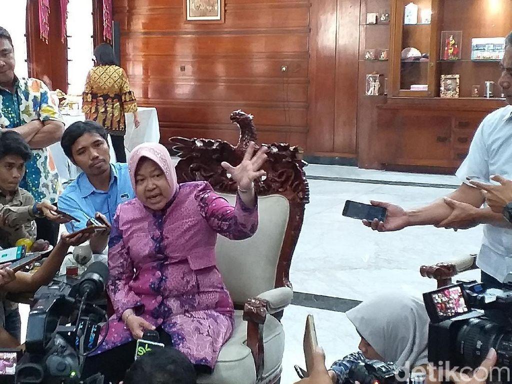 Satpol PP Surabaya Dibacok, Risma: Nanti Penertiban Dibantu Garnisun