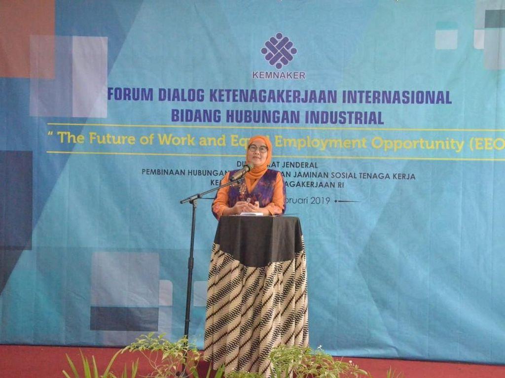 Kemenaker Gelar Dialog Kesetaraan Gender dalam Revolusi Industri 4.0