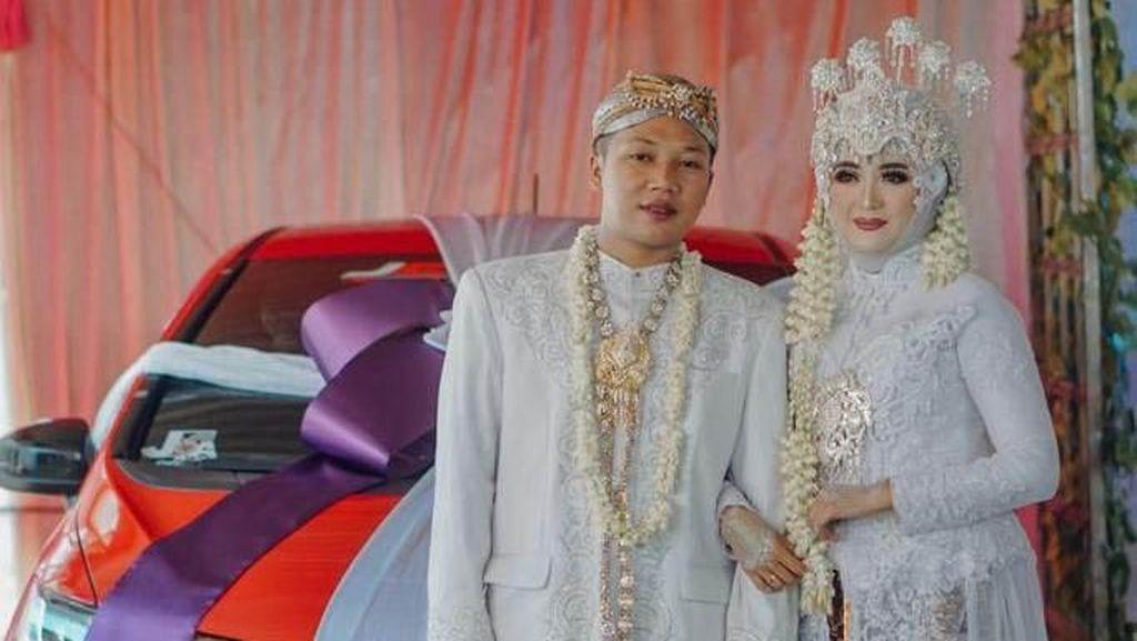 Honda Jazz Jadi Mahar di Pernikahan Ini