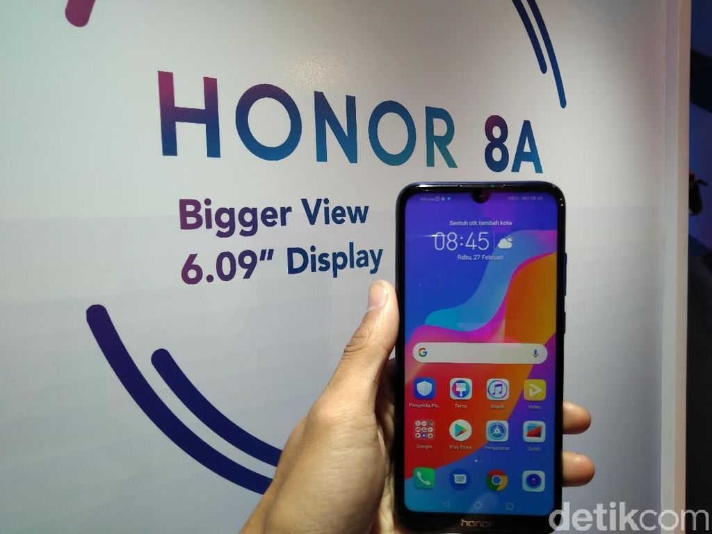 Honor 8A Resmi Dirilis, Apa Keunggulannya?