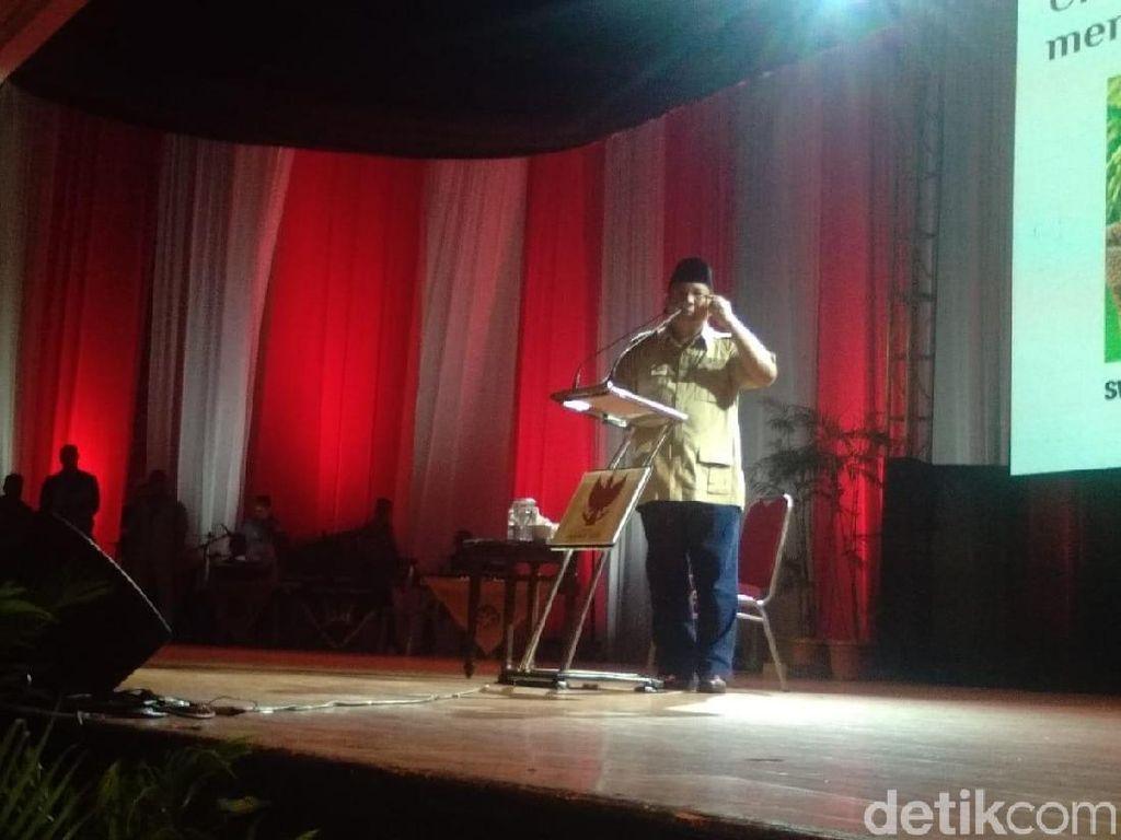 Singgung Lagi Kebocoran Rp 1.000 T, Prabowo: Rakyat Tak Bisa Dibohongi!