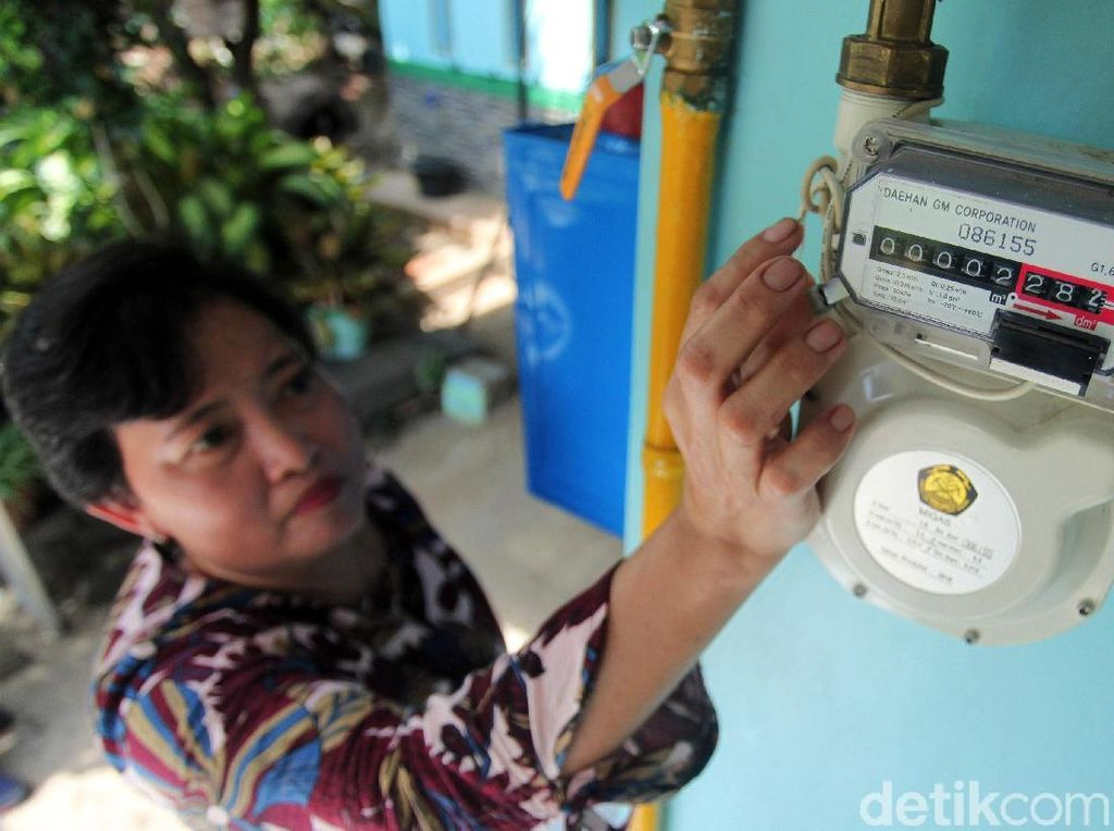 PGN Digitalisasi Layanan Rumah Tangga, Pemakaian Dicek Realtime
