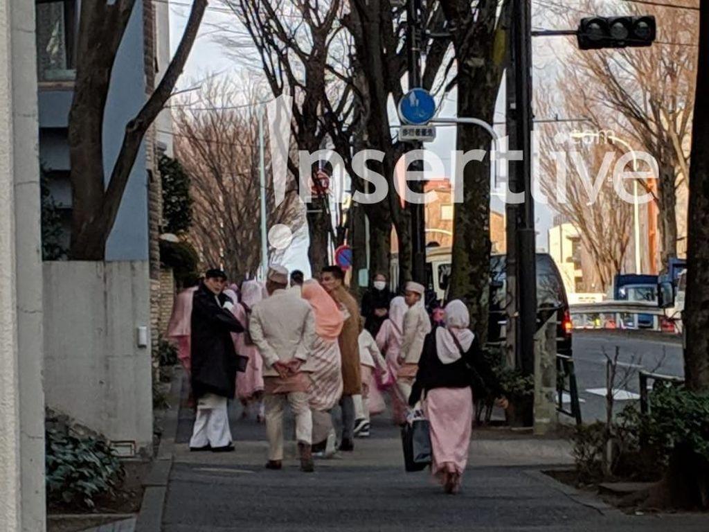 Melihat Lagi Detik-detik Jelang Akad Nikah Syahrini-Reino di Jepang