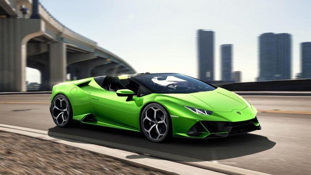 Lamborghini Huracan Evo Spyder, Banteng Buas Beratap Terbuka