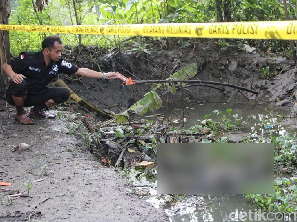 Pria Bertato Angel Ditemukan di Galian Bata Merah Korban Pembunuhan