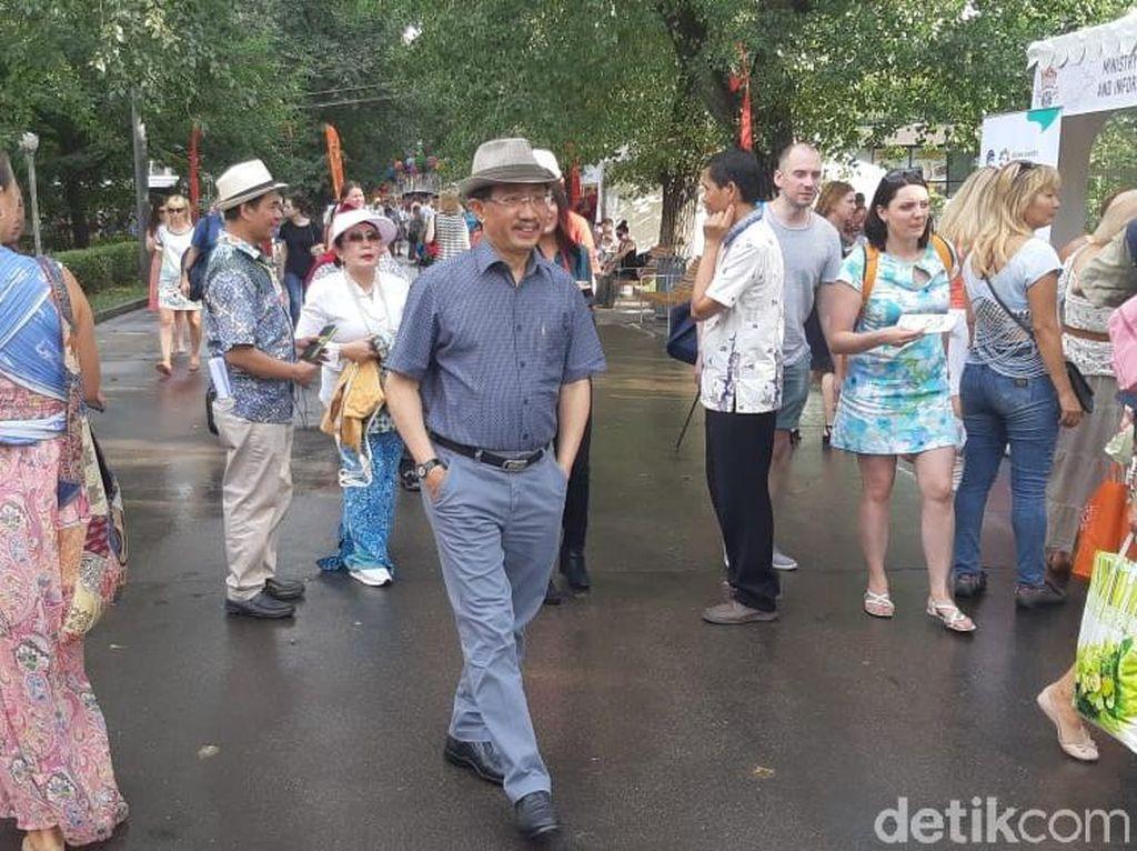 Digelar 1-4 Agustus, Festival Indonesia di Moskow Diserbu