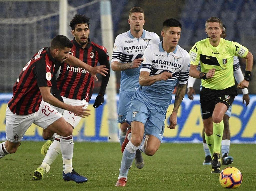 Skor Kacamata di Laga Lazio Vs Milan