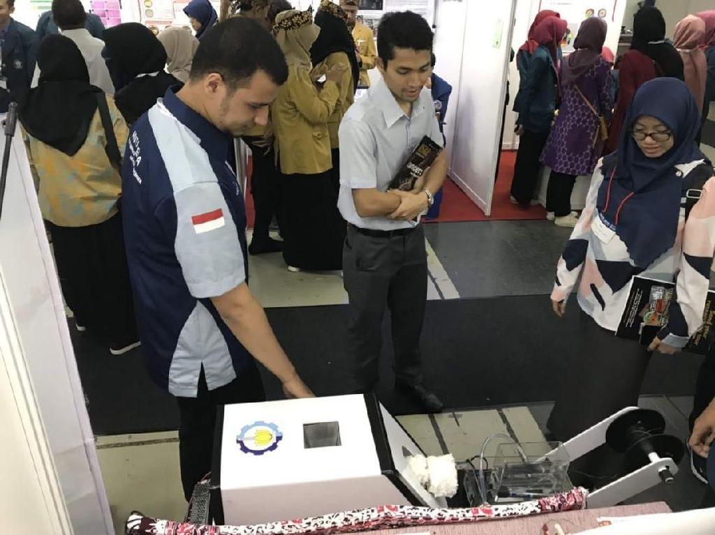 Tim Antasena ITS Olah Sampah Plastik Jadi Bahan Baku 3D Printing