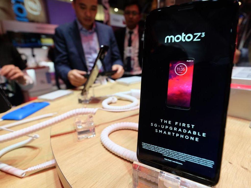Melihat Ponsel 5G Upgrade yang Pertama di Dunia