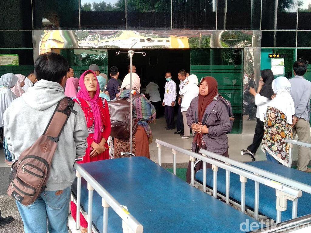 Cerita Keluarga Pasien Saat Asap Kepung RS dr Saiful Anwar Malang