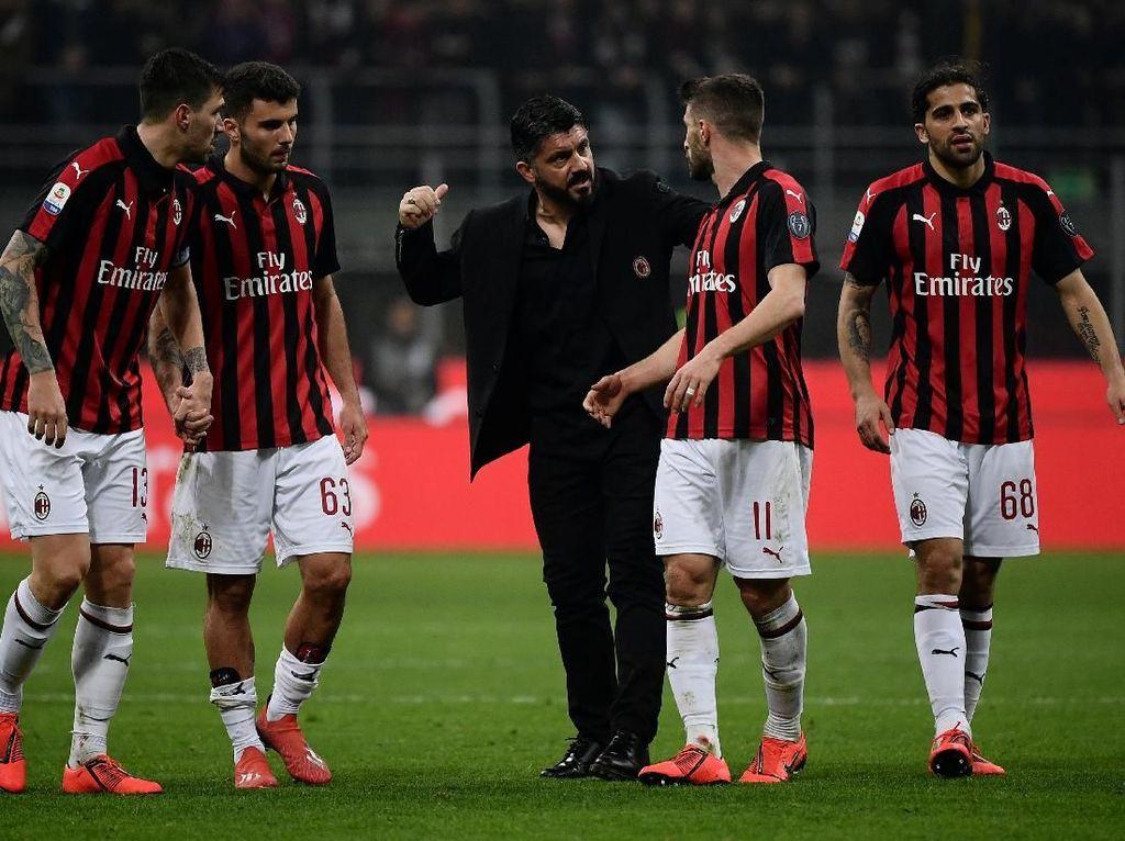 Milan Masih Begitu-begitu Saja, Gattuso Bakal Comeback?