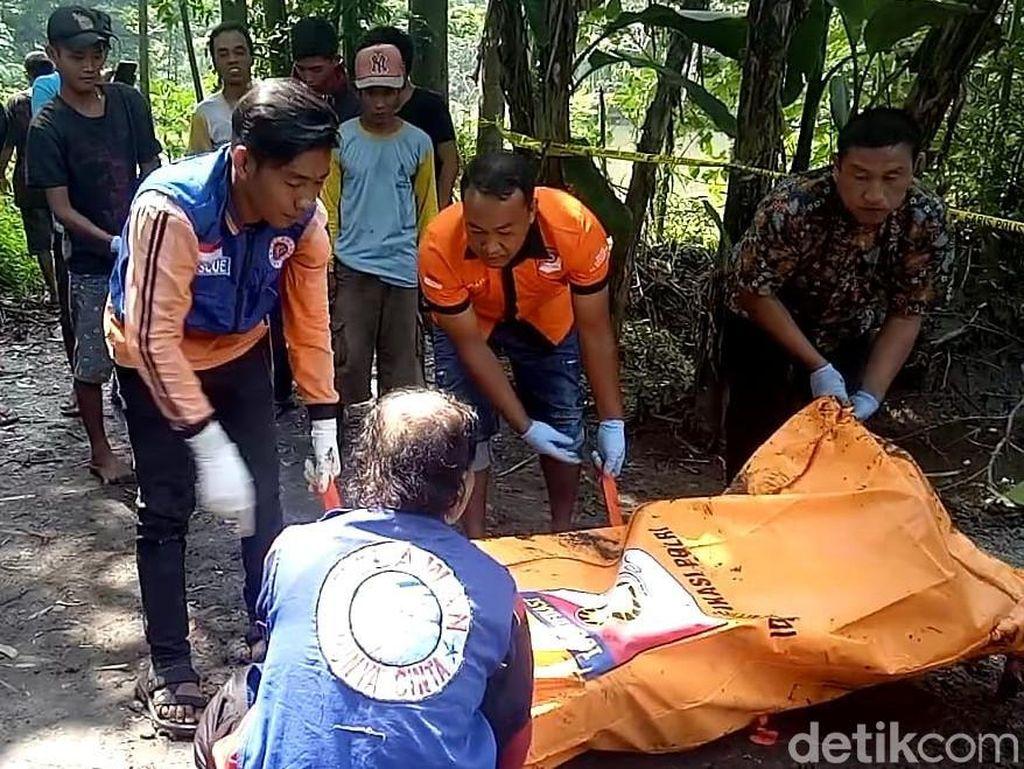 Identitas Mayat Pria Bertato Angel di Galian Bata Merah Terungkap