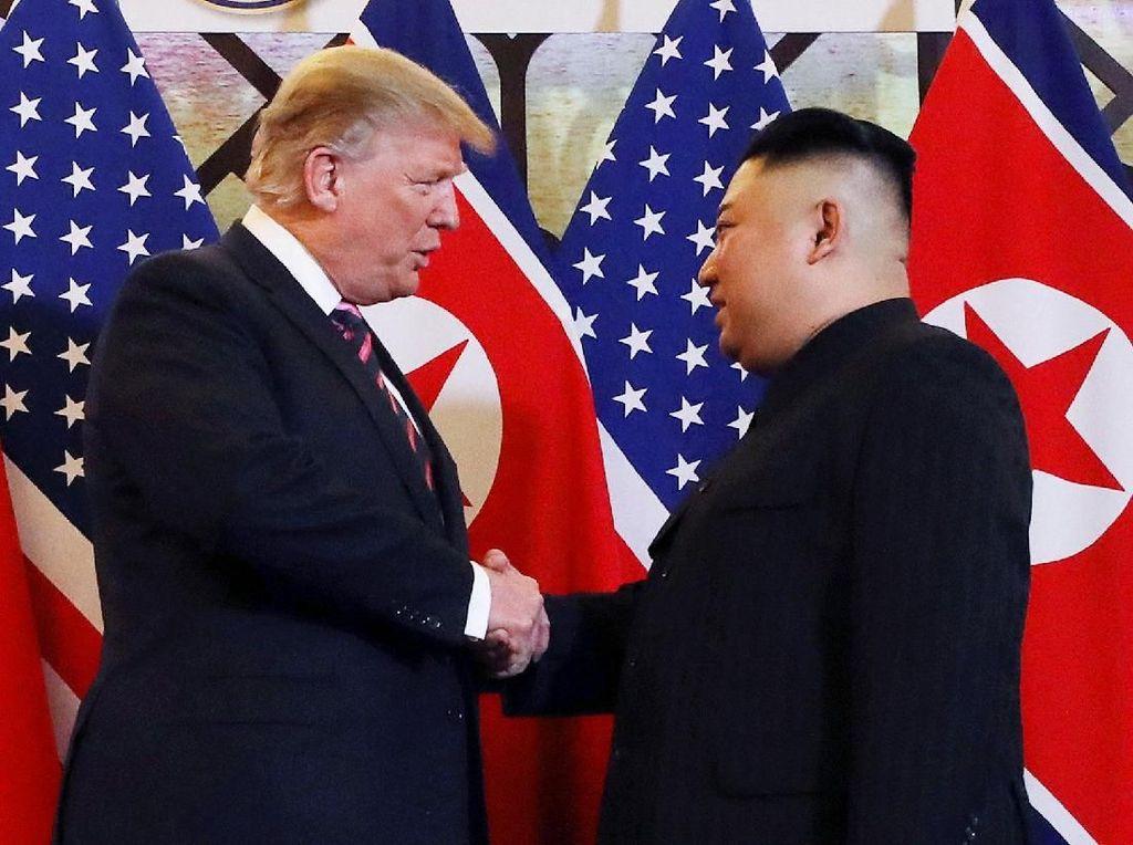 Antiklimaks Pertemuan Trump dan Kim Jong Un