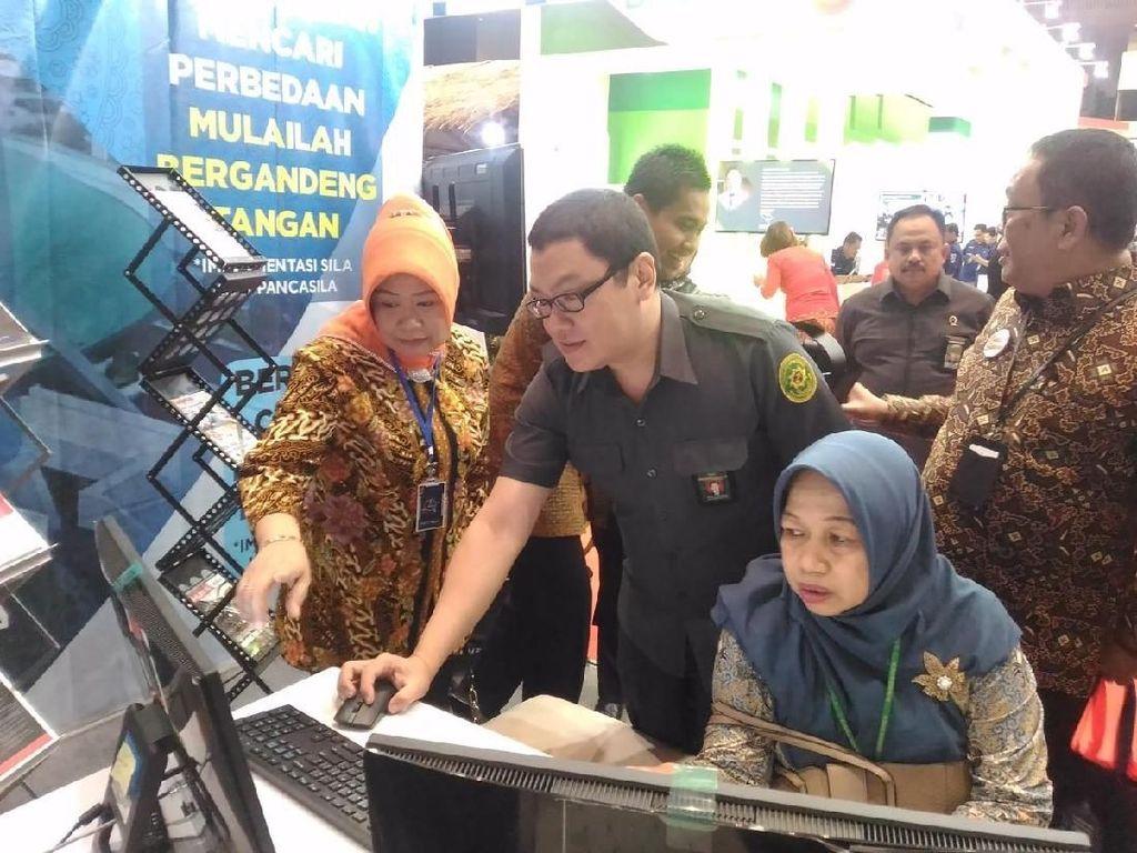 MPR Ikut Semarakkan Pameran Kampung Hukum 2019