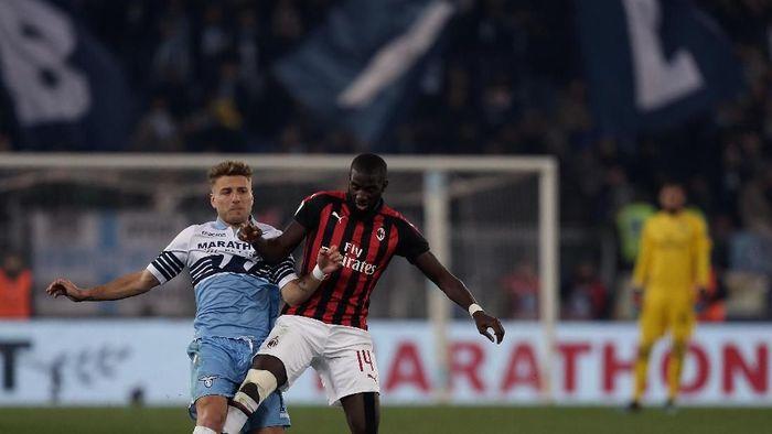 Milan gantian menjamu Lazio di leg kedua semifinal Coppa Italia. (Foto: Getty Images)