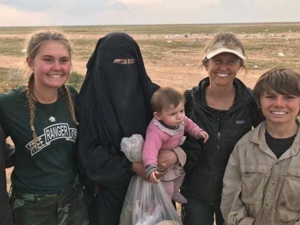 Istri Militan ISIS Ungkap Anak Teroris Masih Terjebak di Lokasi Perang
