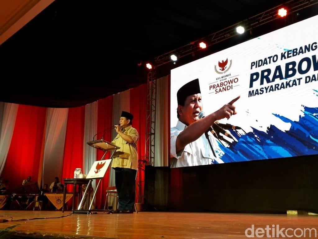 Kata Prabowo Duit WNI di LN Rp 11.000 T, TKN: Tunjuk Batang Hidungnya