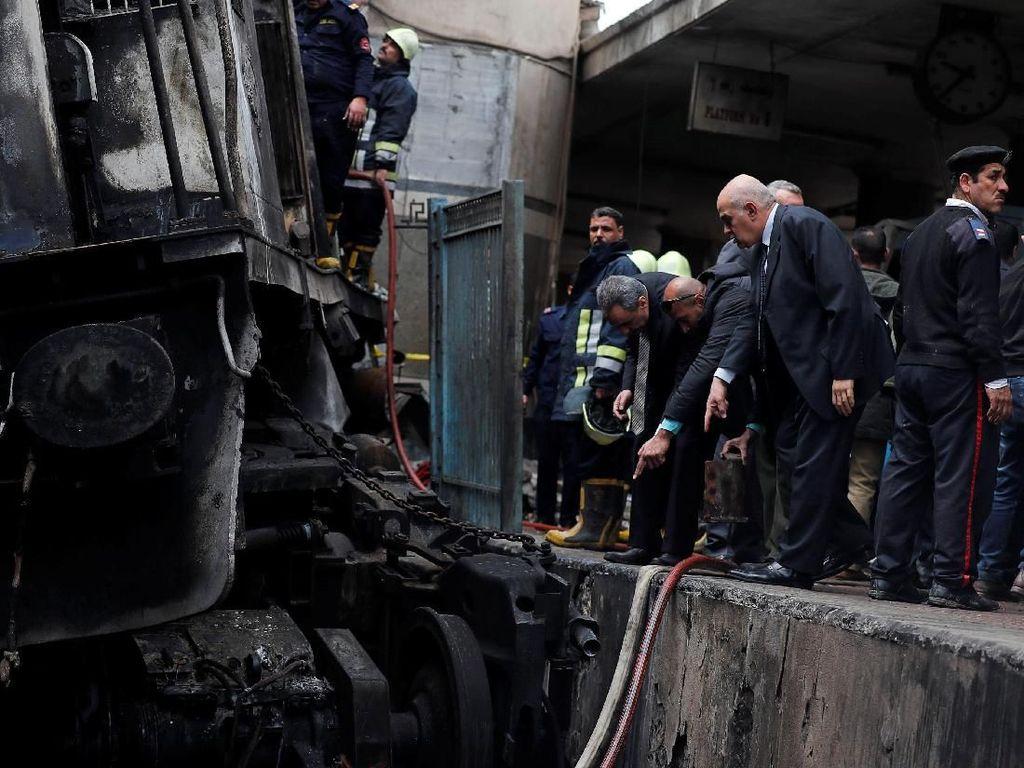 Puluhan Orang Tewas di Stasiun Kairo, Menteri Transportasi Mesir Mundur