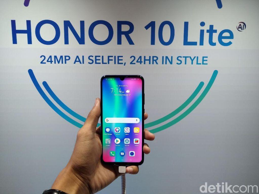 Penampakan Honor 10 Lite dan 8A yang Resmi Hadir di Indonesia