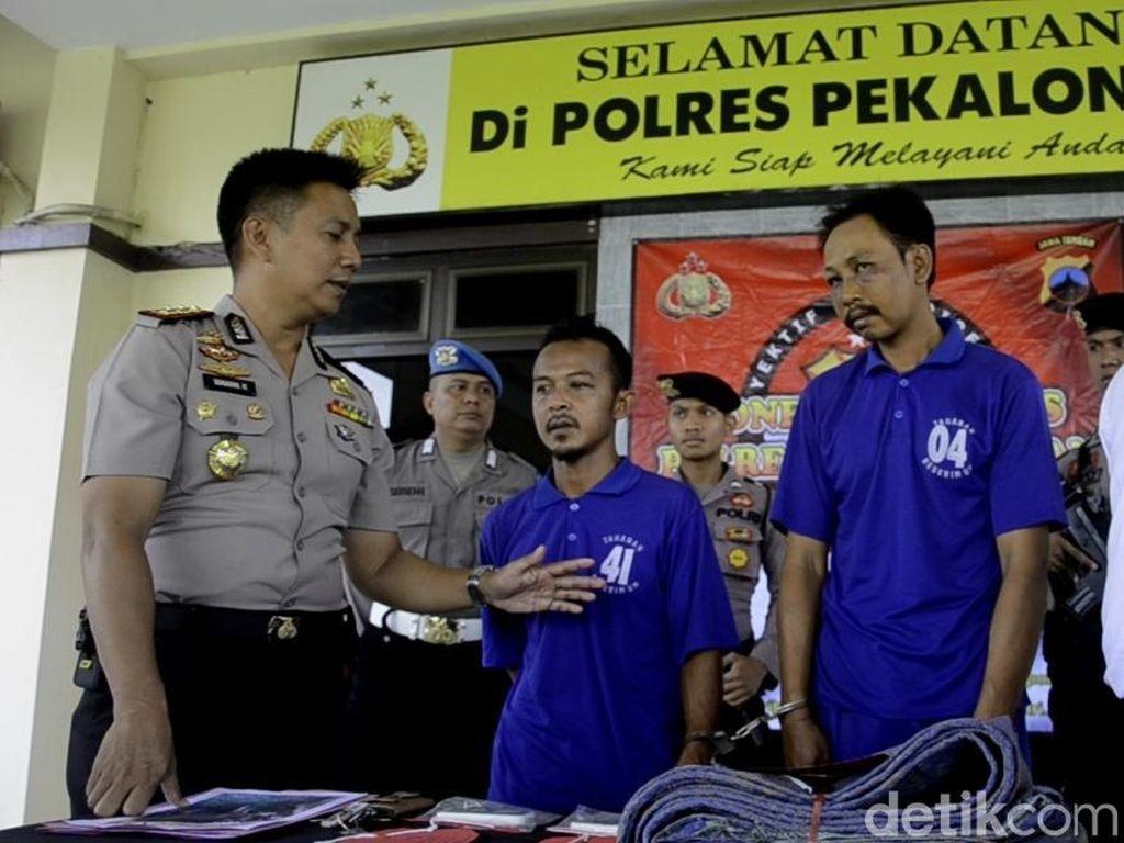 2 Pencuri Ini Kepergok Pemilik Saat Jual Kerbau Curiannya di Pasar