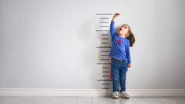 Ilustrasi tinggi badan anak