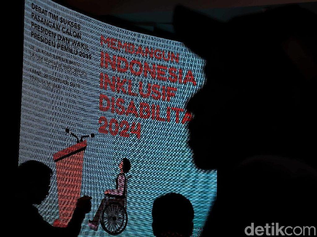 KPU Gelar Debat Timses Capres Terkait Hak Disabilitas
