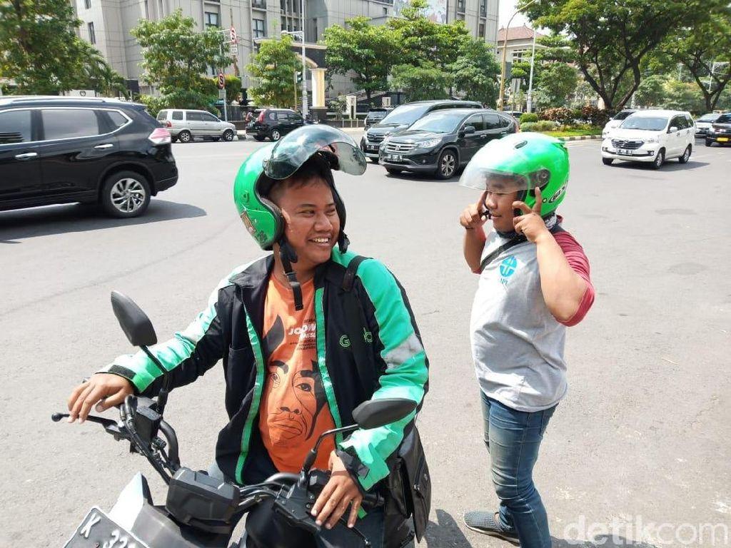 Driver Ojol di Semarang Ini Sisihkan Pendapatan Demi Nyaleg