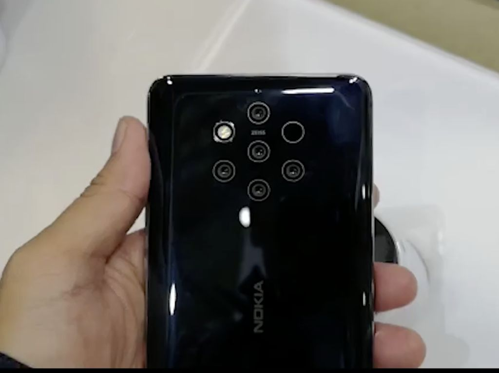 Menilik 5 Kamera Nokia 9 Pureview di MWC 2019