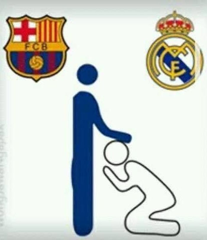 Meme Kocak Real Madrid Yang Dilumat Barcelona