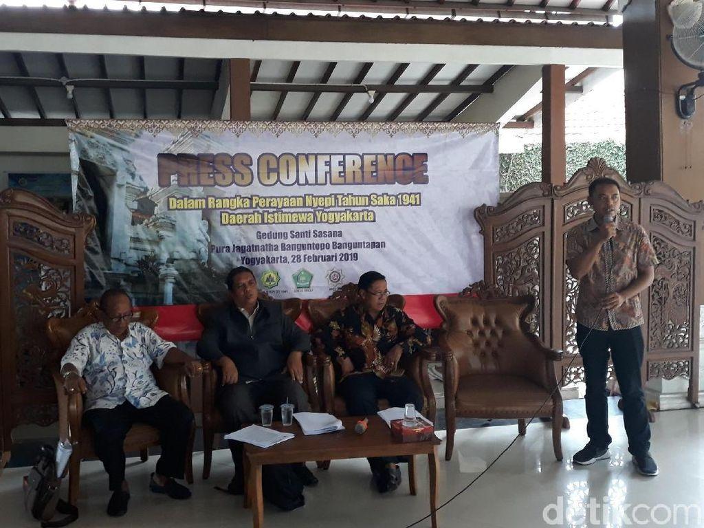Lewat Nyepi, Umat Hindu DIY Turunkan Suhu Politik Jelang Pemilu