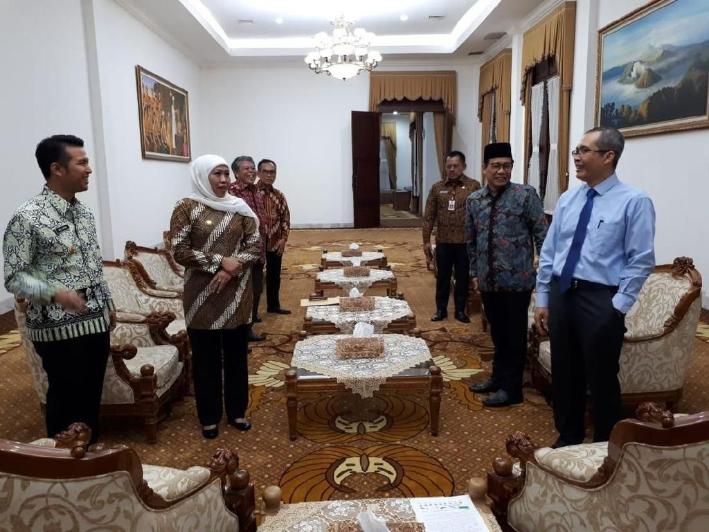 Rapat Bareng Khofifah, KPK Singgung Banyak Kepala Daerah Tersangka di Jatim