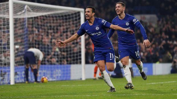 Chelsea berhasil menaklukkan Tottenham Hotspur.