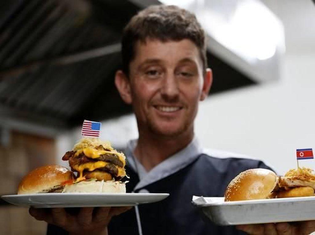 Durty Donald dan Kim Jong Yum, Dua Menu Burger Unik Buatan Chef Irlandia
