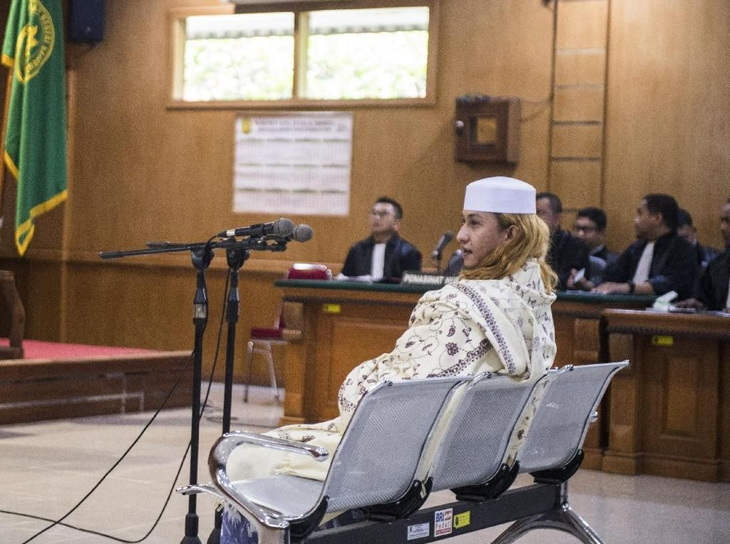 Video Hakim Tolak Eksepsi & Pemindahan Penahanan Habib Bahar